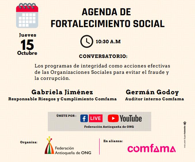 Agenda de Fortalecimiento Social
